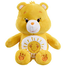 Buy Care Bears Bean Bag Soft Toy, Funshine Online at johnlewis.com