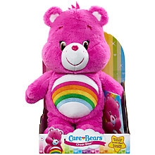 Buy Care Bears Cheer Bear Soft Toy With DVD Online at johnlewis.com