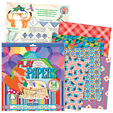 Buy Eeboo Colour & Shape Play Papers Online at johnlewis.com