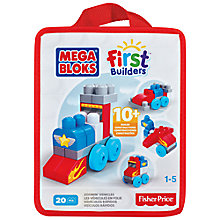 Buy Mega Bloks First Builders Zoomin' Vehicles Online at johnlewis.com