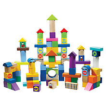 Buy Thomas & Friends Building Block Bucket, 100 Pieces Online at johnlewis.com