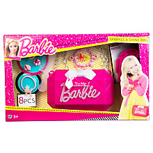 Buy Barbie Lifestyle Sparkle & Shine Bag Toy Online at johnlewis.com