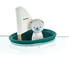 Buy Plan Toys Polar Bear Boat Online at johnlewis.com