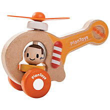 Buy Plan Toys Helicopter Online at johnlewis.com