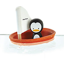 Buy Plan Toys Penguin Boat Online at johnlewis.com