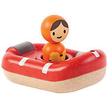 Buy Plan Toys Coast Guard Boat Water Toy Online at johnlewis.com