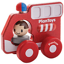 Buy Plan Toys Fire Engine Online at johnlewis.com