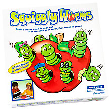 Buy Paul Lamond Squiggly Worms Game Online at johnlewis.com