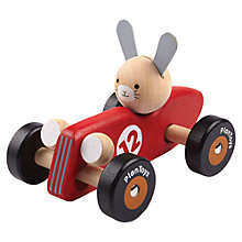 Buy Plan Toys Rabbit Racing Car Online at johnlewis.com