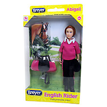 Buy Breyer Abigail Rider Figure Set Online at johnlewis.com