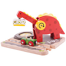 Buy Bigjigs Dino Crane Online at johnlewis.com