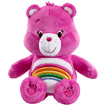 Buy Care Bears Plush Bean Bag Soft Toy, Cheer Bear Online at johnlewis.com