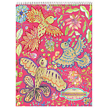 Buy Eeboo Gold Birds Sketchbook Online at johnlewis.com