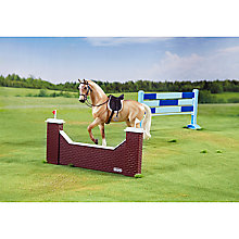 Buy Breyer Palomino Warmblood Horse Show Jumping Set Online at johnlewis.com