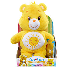 Buy Care Bears Funshine Bear Soft Toy With DVD Online at johnlewis.com