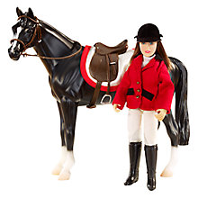 Buy Breyer Chelsea Rider Figure Set Online at johnlewis.com