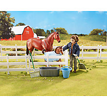 Buy Breyer New Arrival At The Barn Play Set Online at johnlewis.com