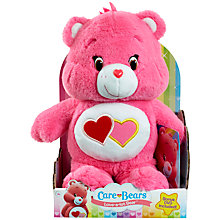 Buy Care Bears Love-A-Lot Bear Soft Toy With DVD Online at johnlewis.com
