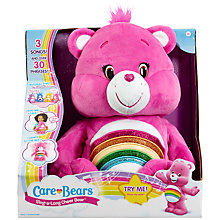Buy Care Bears Sing-A-Long Cheer Bear Soft Toy Online at johnlewis.com