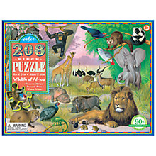 Buy Eeboo Wildlife of Africa Jigsaw Puzzle Online at johnlewis.com