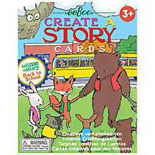 Buy Eeboo Create A Story Cards, Back to School Online at johnlewis.com