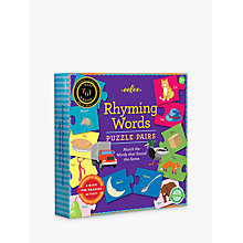 Buy Eeboo Rhyming Words Puzzle Pairs Online at johnlewis.com