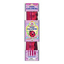 Buy Eeboo Pipe Cleaners, Red, Set of 36 Online at johnlewis.com