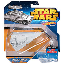 Buy Star Wars Episode VII: The Force Awakens Hot Wheels Starship Vehicle, Assorted Online at johnlewis.com