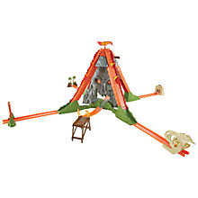 Buy Hot Wheels Workshop Volcano Blast Track Builder Kit Online at johnlewis.com