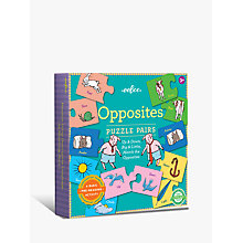 Buy Eeboo Opposites Puzzle Pairs Online at johnlewis.com