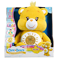 Buy Care Bears Sing-A-Long Funshine Soft Toy Online at johnlewis.com
