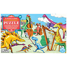 Buy Eeboo Dinosaurs At Leisure Panoramic Jigsaw Puzzle Online at johnlewis.com