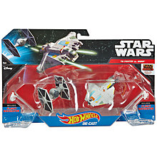 Buy Hot Wheels Star Wars Die-Cast Vehicles, Pack of 2, Assorted Online at johnlewis.com