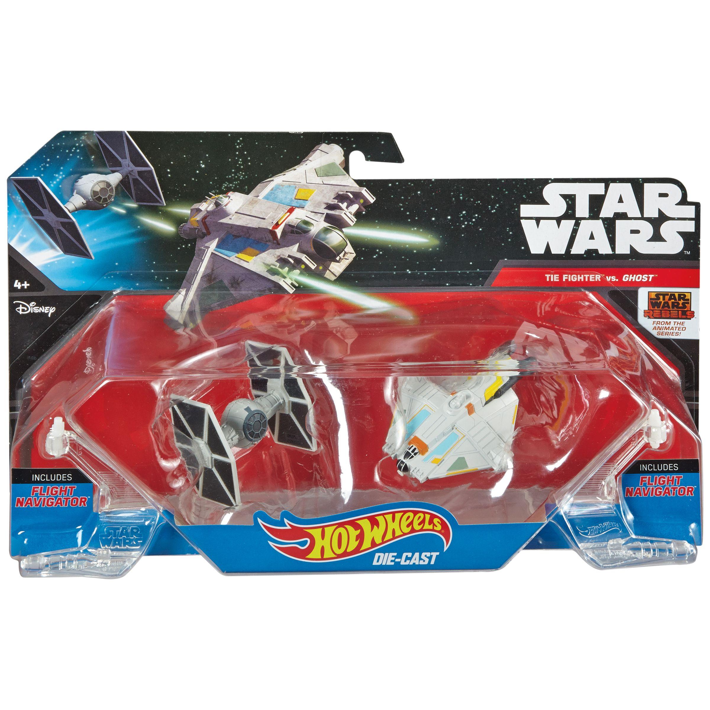Hot Wheels Hot Wheels Star Wars Die-Cast Vehicles, Pack of 2, Assorted