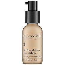 Buy Perricone No Foundation, 59ml, No 1 Light Online at johnlewis.com
