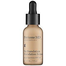 Buy Perricone No Foundation Foundation Serum, 30ml Online at johnlewis.com