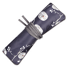 Buy Aroma Home Printed Owl Jewellery Roll Online at johnlewis.com