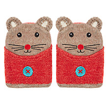 Buy Aroma Home Knitted Mouse Hand Warmers Online at johnlewis.com