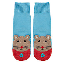 Buy Aroma Home Knitted Mouse Bed Socks Online at johnlewis.com