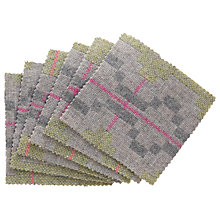 Buy Melin Tregwynt Pastel Coasters, Set of 6 Online at johnlewis.com