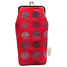 Buy Melin Tregwynt Mondo Spot Glasses Case, Red Online at johnlewis.com