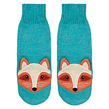 Buy Aroma Home Knitted Fox Bed Socks Online at johnlewis.com