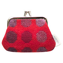 Buy Melin Tregwynt Mondo Spot Small Purse, Red Online at johnlewis.com