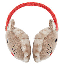 Buy Aroma Home Knitted Mouse Ear Muffs Online at johnlewis.com