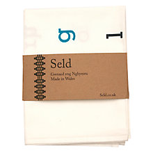 Buy Seld Wyddor Tea Towel Online at johnlewis.com
