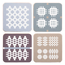Buy Seld Muted Coasters, Set of 4 Online at johnlewis.com