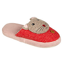 Buy Aroma Home Knitted Mouse Slippers Online at johnlewis.com