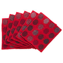 Buy Melin Tregwynt Mondo Spot Coasters, Set of 6 Online at johnlewis.com