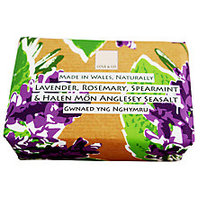 Buy Cole & Co Lavender, Rosemary and Spearmint Soap, 80g Online at johnlewis.com