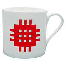 Buy Seld Big Mug, Red/Blue Online at johnlewis.com